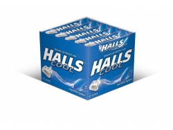 HALLS COOL WAVE/MENTOLYPTUS 33,5 /20/