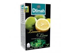 DILMAH TEA LEMON&LIME 20*1,5GR/12/